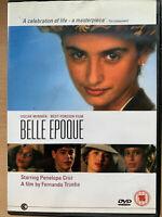 Belle Epoque DVD 1992 Spagnolo Cult Film Classic Cast Penelope Cruz