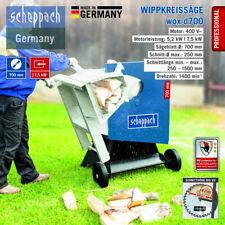 Scheppach Wippkreissäge wox d700 5.2kW HW-Blatt, Wippenverlängerung, Schutzhaube