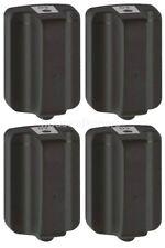 4-PK for HP 02 C8721WN Black Ink cartridges for Photosmart 3210 , 3200