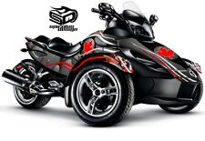 "Can Am Spyder GS RS RSS graphic wrap decal kit ""O Canada"" - Full"