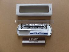 Sailor Fountain Pen High Ace Neo Clear Silver Fine Nib with Ink Converter