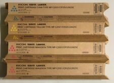 Ricoh Savin Lanier Print Cartridge Set C2551- Y841501,C841503,TWO M841502