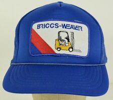 Briggs Weaver Machinery Yale Forklift patch Trucker Baseball Hat Cap Adjustable