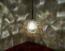 alte Doria Lampe 70er Jahre 70s Space Age Lamp Haengelampe Lava Kugel Glas E27