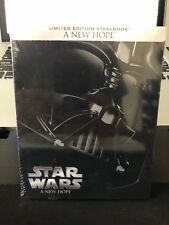 Star Wars IV A New Hope (Blu-ray Disc, 2015, Steelbook) NEW - Free Shipping