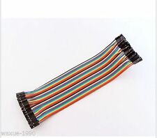 1 x 40P Dupont . Wire Color Connector Cable 2.54mm 1P-1P.. For Arduino