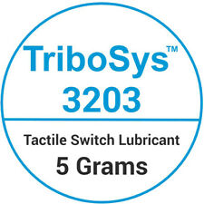 TriboSys™ 3203 Tactile Switch Lubricant 5 Grams + Free Brush