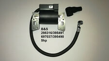 NEW REPLACEMENT BRIGGS AND STRATTON IGNITION COIL 298316-395491-395490,+ CAP