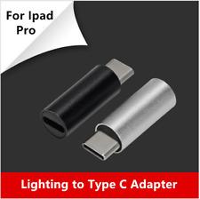 Ipad Pro Iluminación A Usb Tipo C Adaptador MacHo a Hembra Convertidor Cargador