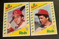 1982 Topps Squirt #15 Dave Concepcion and #21 Tom Seaver - Reds