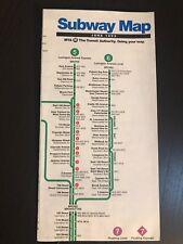 Vtg June 1993 NYC New York City Subway Map Pocket MTA  Guide NYCTA New