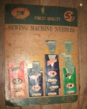Lot of Assorted sizes Vintage Sewing Machine Needles 90,100,105