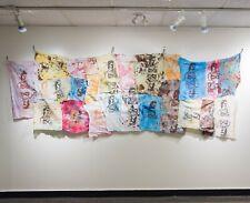 Serpentine Skin, 2017, Silk Screen (Serigraphy) on Rags, Fine Art / Wall Art