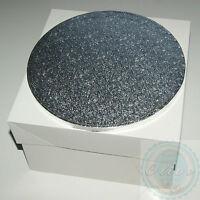 10 Inch Round Wedding Birthday Cake Drum/ Board and Box