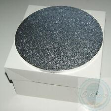 14 Inch Round Wedding Birthday Cake Drum/ Board and Box