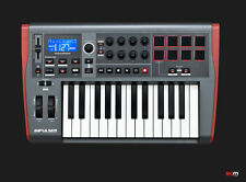 NOVATION IMPULSE 25 MIDI/USB CONTROLLER KEYBOARD WITH FREE SOFTWARE BUNDLE!