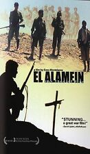 El Alamein (DVD, 2005) Italy in World War II Enzo Monteleone