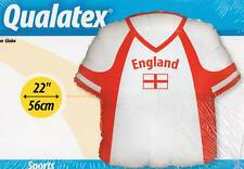 "22"" ENGLAND SHIRT FOIL BALLOON LARGE - FOOTBALL PARTY"