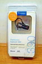 New Plantronics Explorer 390 Bluetooth Black Ear Hook Headset 80601-01 W/ Box