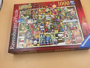 Ravenburger Jigsaw 1000 Piece The Christmas Cupboard