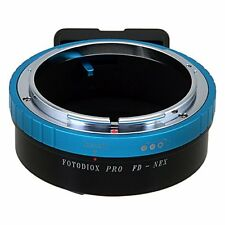 Fotodiox Pro Lens Mount Adapter - Canon FD & FL 35mm SLR lens to Sony Alpha