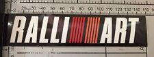 Ralliart Mitsubishi Motors Japan Racing Car Wall Decal - Full Colour Sticker
