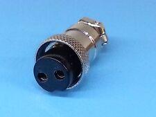 "TIG Welding - Plasma Cutter - 2 Pin - Small Connector Plug ~1/2"" - *US Seller*"