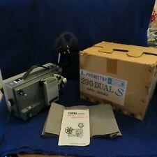 Vintage Copal Sekonic 290 Dual S 8mm Projector w/ Manual & Orig Box - See Pics