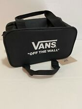 "Vans Family ""Off the Wall"" Cooler Bag Lunchbox Checkerboard Black & White - NEW"