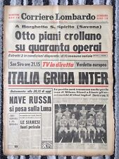 1965 EUROPEAN CUP SEMI FINAL Inter Milan v Liverpool (2nd Leg)