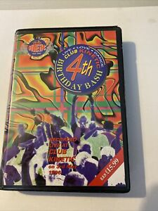 Kinetic 4th Birthday Bash 8 Drum & Bass Tape Pack 1996