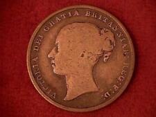 1845 Great Britain Shilling .925 Silver #2