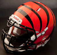 *CUSTOM* CINCINNATI BENGALS NFL Riddell Full Size SPEED Football Helmet