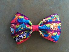 Shopkins Hair Bow with Alligator Clip