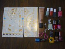 Joblot Makeup Nail Vanish Rimmel Elf Essele, Tatoo, Foundation, Eyelash curler