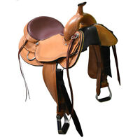 "New! 16.5"" HR Custom Made Trail Saddle Code: HR16TRAIL"