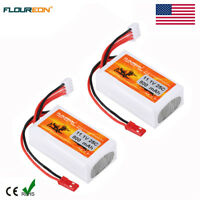 2x 3S 11.1V 800mAh 25C LiPo Battery JST-XH  for RC Airplane Helicopter Car Truck