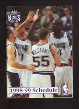 Sacramento Kings--Chris Webber--Jason Williams--1998-99 Schedule-Folsom Automall