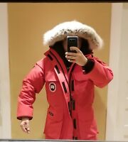 NEW 2019 GREY LABEL LATEST CONCEPT RED CANADA GOOSE EXPEDITION M/M PARKA JACKET