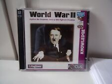 "Windows CD-ROM ""World War II"" Two Disc Set FlagTower Focus Essential used"