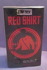 Star Trek Red Shirt Eau de Toilette Spray 3.4 oz 100ml Super Rare Cologne Sealed