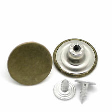 10 Blank NO SEW Replacement Metal Button 20mm  17mm For Jeans/Denim-shirts/Pants