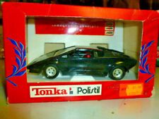 die cast 1/25 Tonka/Polistil- Lamborghini Countach C/spoiler nera  scala 1/25