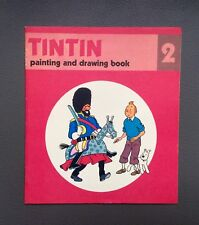 HERGÉ. Album à colorier Tintin N°2.Édition Anglaise Methuen children's book 1979