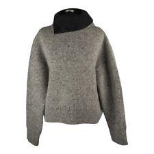 Celine Sweater Heathered Gray Turtleneck Oversized XS NWT