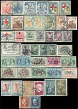 "GRECE/GREECE/HELLAS ""BIENFAISANCE/CHARITY"" 44 stamps (1914-56) Obl/Used"