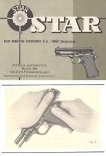 Star Pistola Automatica 9mm Modelo BM Manual