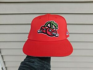 The Game Pro Traverse City Pit Spitters Fitted Hat Size Large