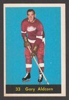 1960-61 PARKHURST # 33  GARY ALDCORN   INV M288