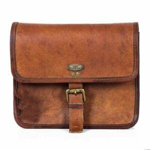 """Leather Shoulder Bag Tote Purse Handbag Messenger Satchel Sling 10"""" Hobo Women'"""